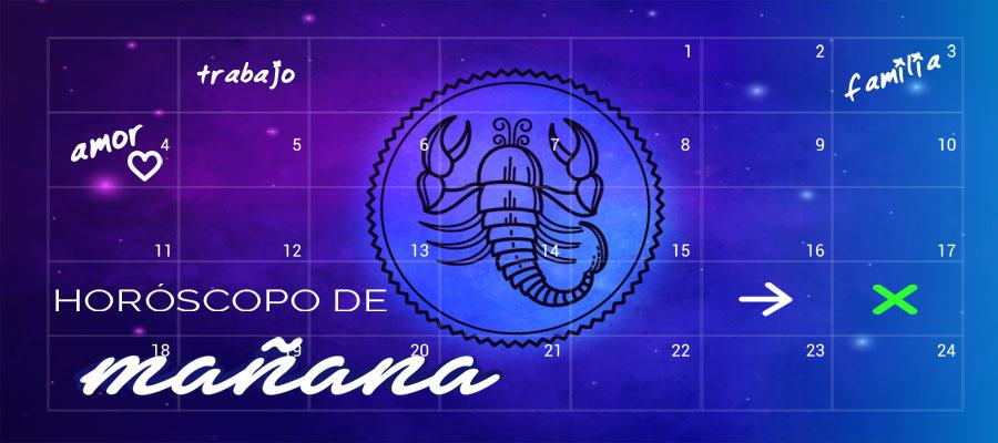 Horóscopo Escorpio de Mañana