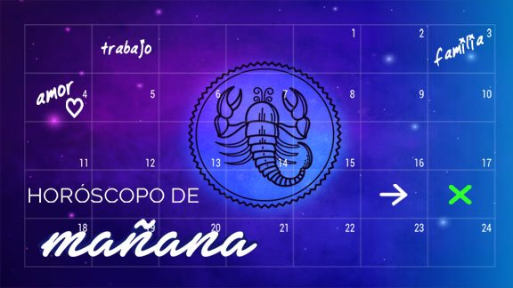 Horóscopo MAÑANA Escorpio - escorpiohoroscopo.com