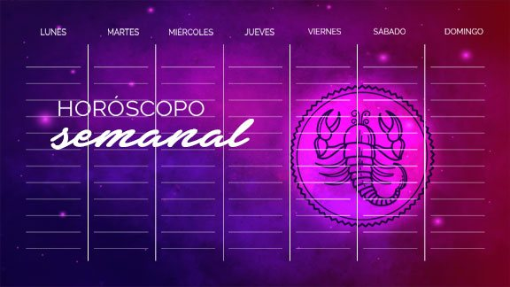 Horóscopo Escorpio semanal- escorpiohoroscopo.com